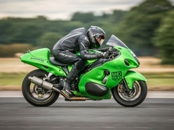 Four new records and a PB for motorbike speed ace Zef