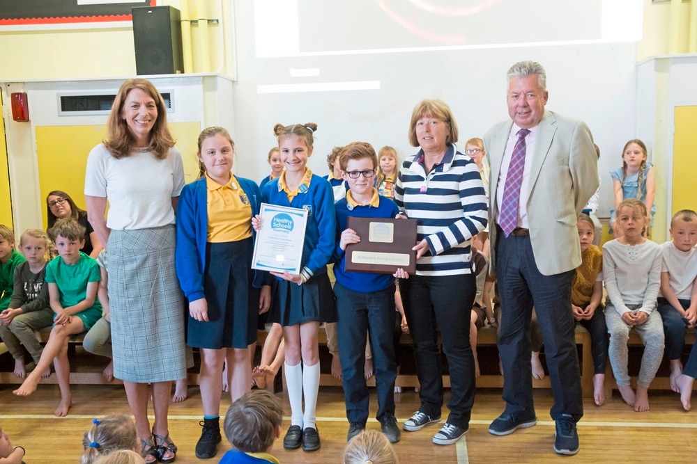 St Martins School >> St Martin S Students Embrace Healthy Lifestyles Guernsey Press