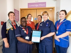 Maternity staff far from blue over excellence award