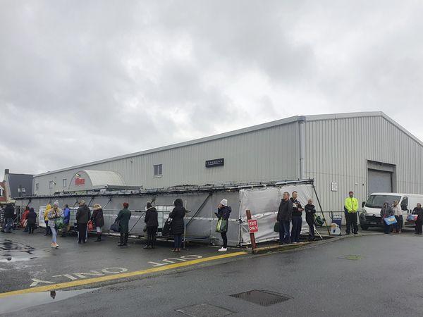 Supermarket queues (29161517)