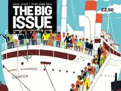 Floella Benjamin guest edits Windrush edition of the Big Issue