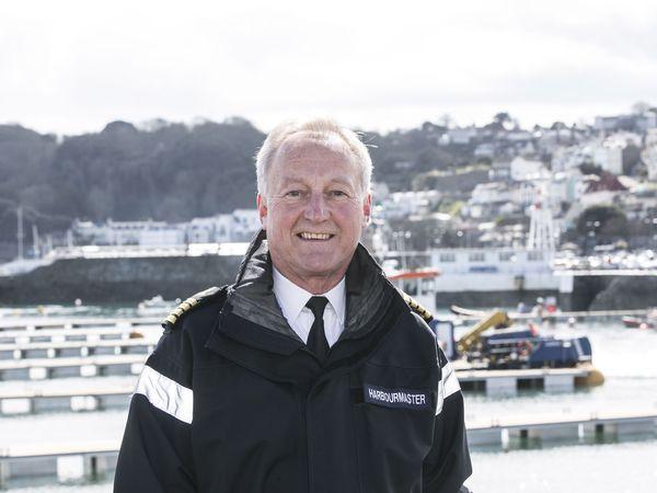 Harbour master Captain David Barker. (30101883)