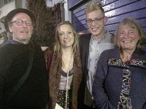 The Orchard family who are calling for a review of sentencing guidelines. Left to right: dad Tom, daughter Polly, son Pip and wife Carol.