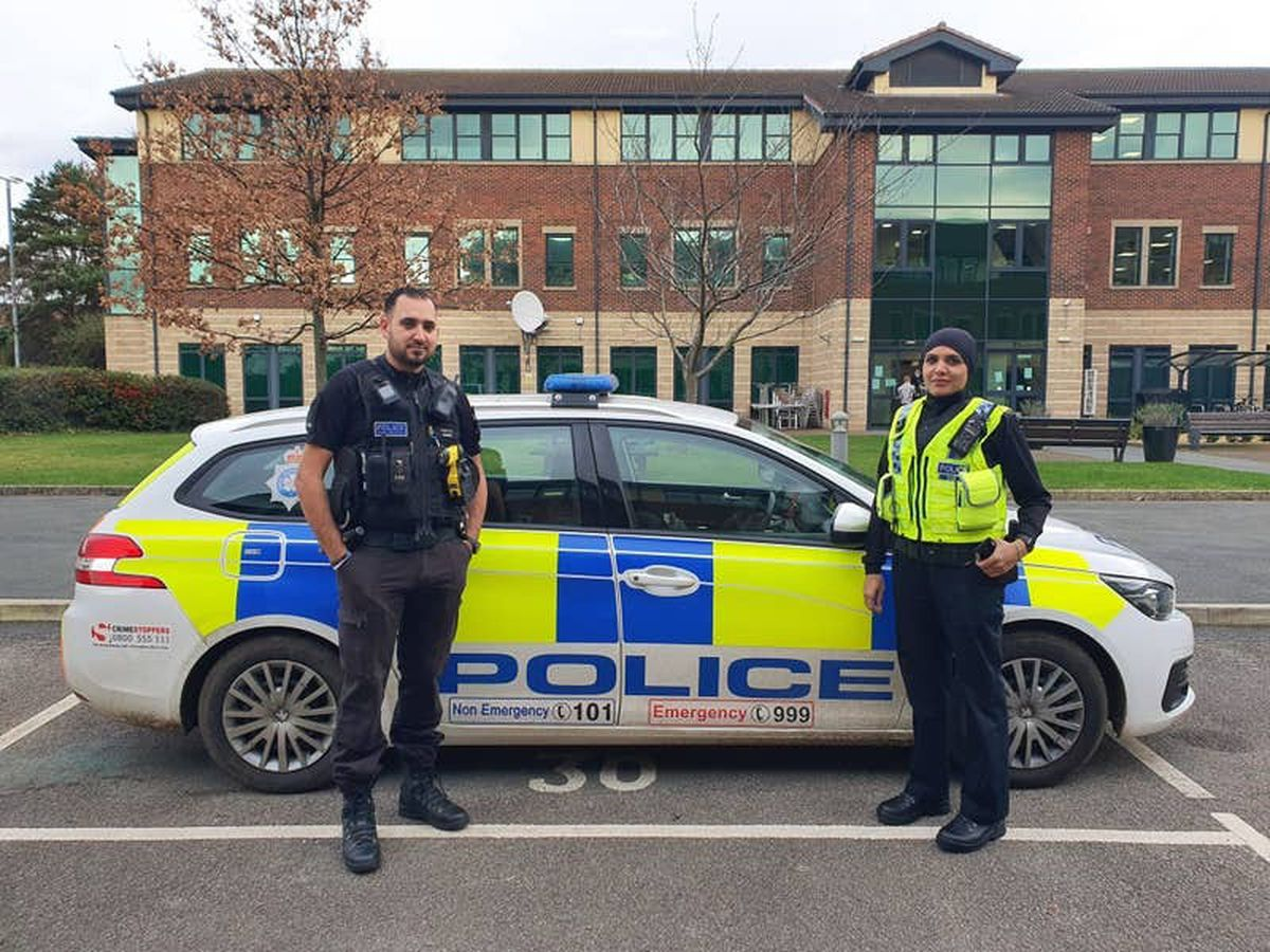 North Yorkshire Police officers celebrate incorporation of hijab into uniform