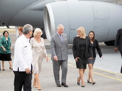 Prince of Wales honours Cuba's national hero