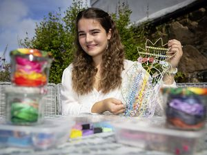 Picture By Peter Frankland. 11-08-21 Izabella Dupre has been nominated for a Pride of Guernsey Award - Young Achiever. For her jewellery work.. (29861954)