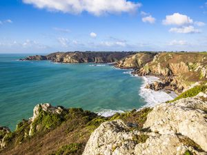 Channel Island charm is irresistible, the Sunday Times Travel team wrote, with sights such as from the cliffs at Icart part of the natural charm. (Picture by Sophie Rabey, 26783604)