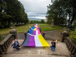 WATCH: Unveiling of new 50m Pride flag