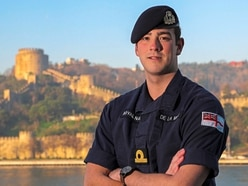 Newly-qualified warfare officer relishing amazing experience