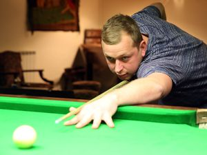 Jamie Le Cheminant continued his excellent run of form as he knocked eight-seed Darren Hughes out of the Island Snooker Championship. (Picture by Adrian Miller, 29098002)