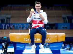 Whitlock shows off his gold as GB toast more success – Monday's sporting social