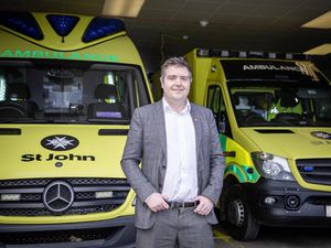 Picture by Sophie Rabey.  14-10-20.  .St Johns Ambulance is chasing about 60 people to pay outstanding bills for ambulance services.  Chief financial officer Stuart Brennan.. (28802735)