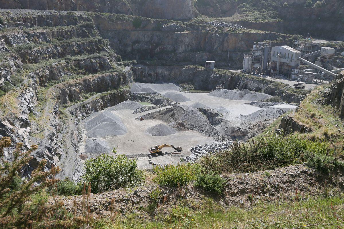 Ronez Quarry, Les Vardes, Vale. (29839328)