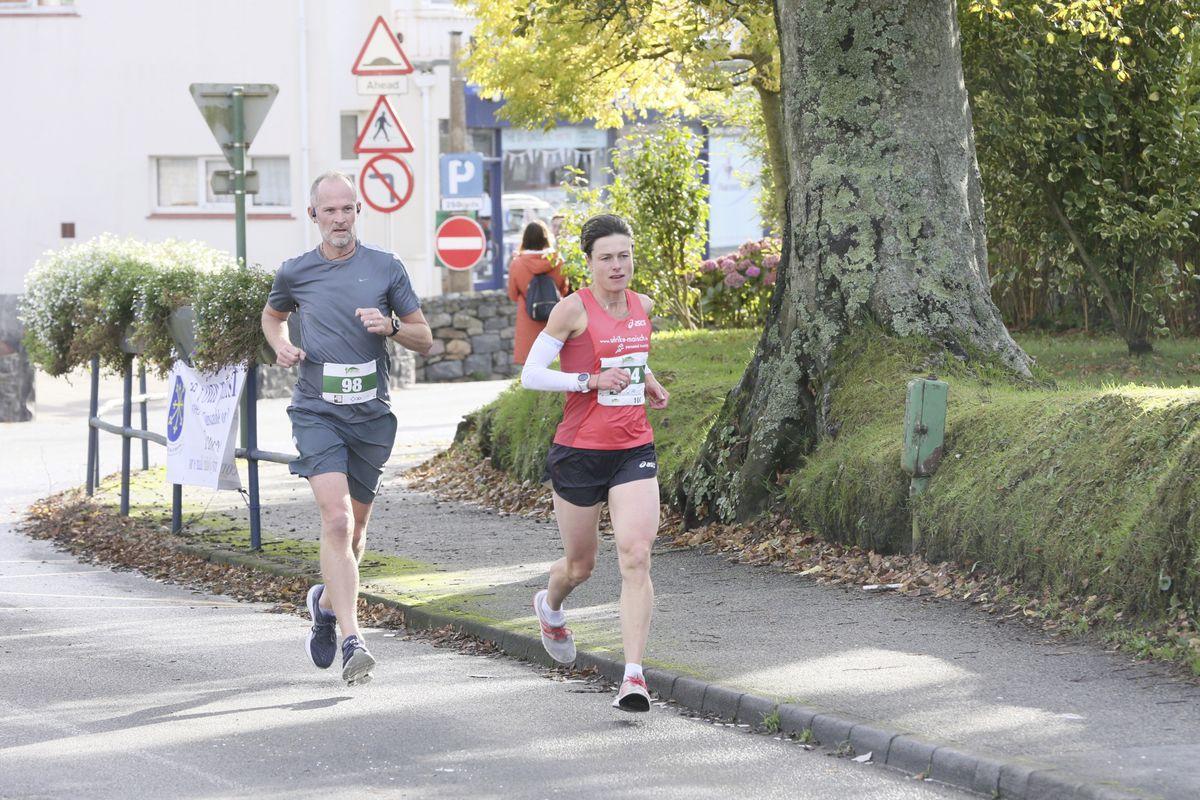 Pic by Adrian Miller 25-10-20 Guernsey Marathon 2020 (28836920)