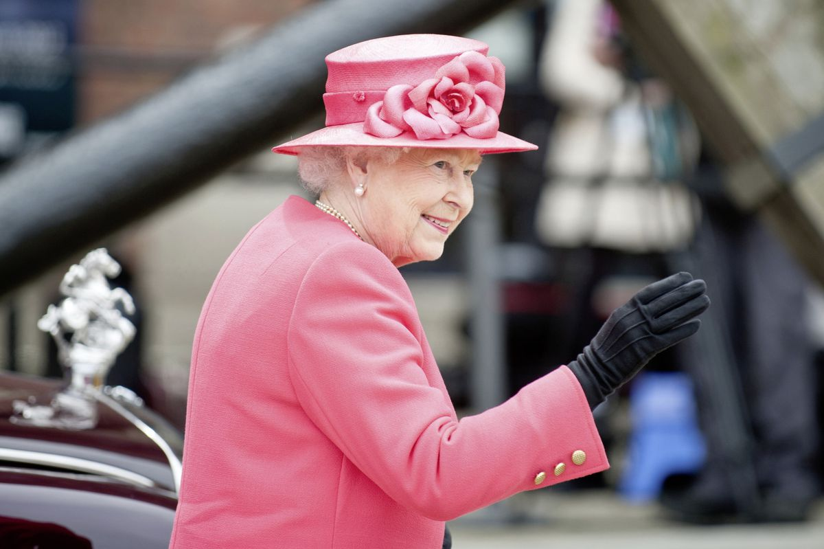The Queen reigns as a servant of the people, rather than lording it over them. (Picture by Shaun Jeffers/Shutterstock) (28677658)