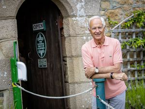 Picture By Sophie Rabey.  03-06-21.  Tony Spruce at Folk Museum, president of the National Trust of Guernsey re Volunteers Week.. (29618658)