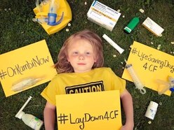 Silent protest at Royal Court: islanders demand access to cystic fibrosis drug