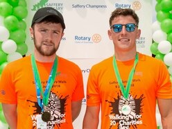 Multiple charities benefit from the aches and pains of walkers
