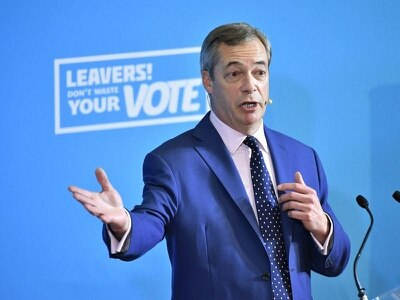 Nigel Farage urges Labour Leave voters to back Brexit Party