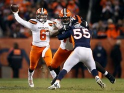 Cleveland Browns keep faint play-off hopes alive with win over Denver Broncos