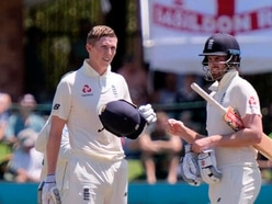 What happened on day one of the fourth Test between England and South Africa?