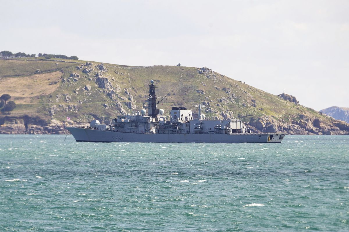 HMS Westminster. (Picture by Sophie Rabey, 29442590)