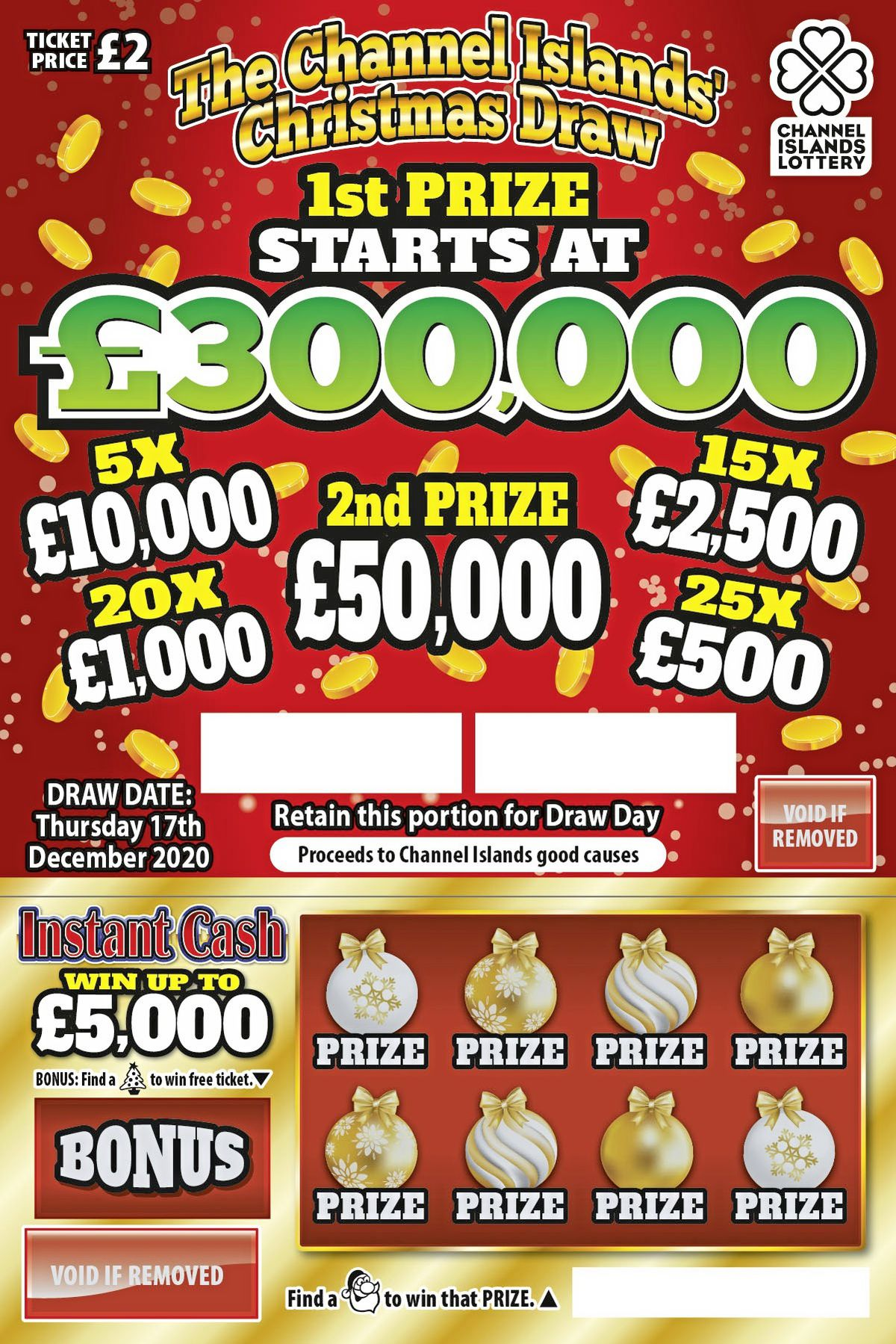 2020 Christmas lottery ticket (28935040)