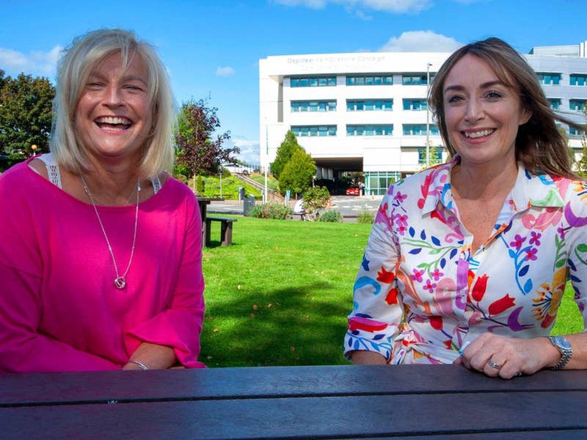Cancer survivors' fundraising helps buy machine to slash treatment delays