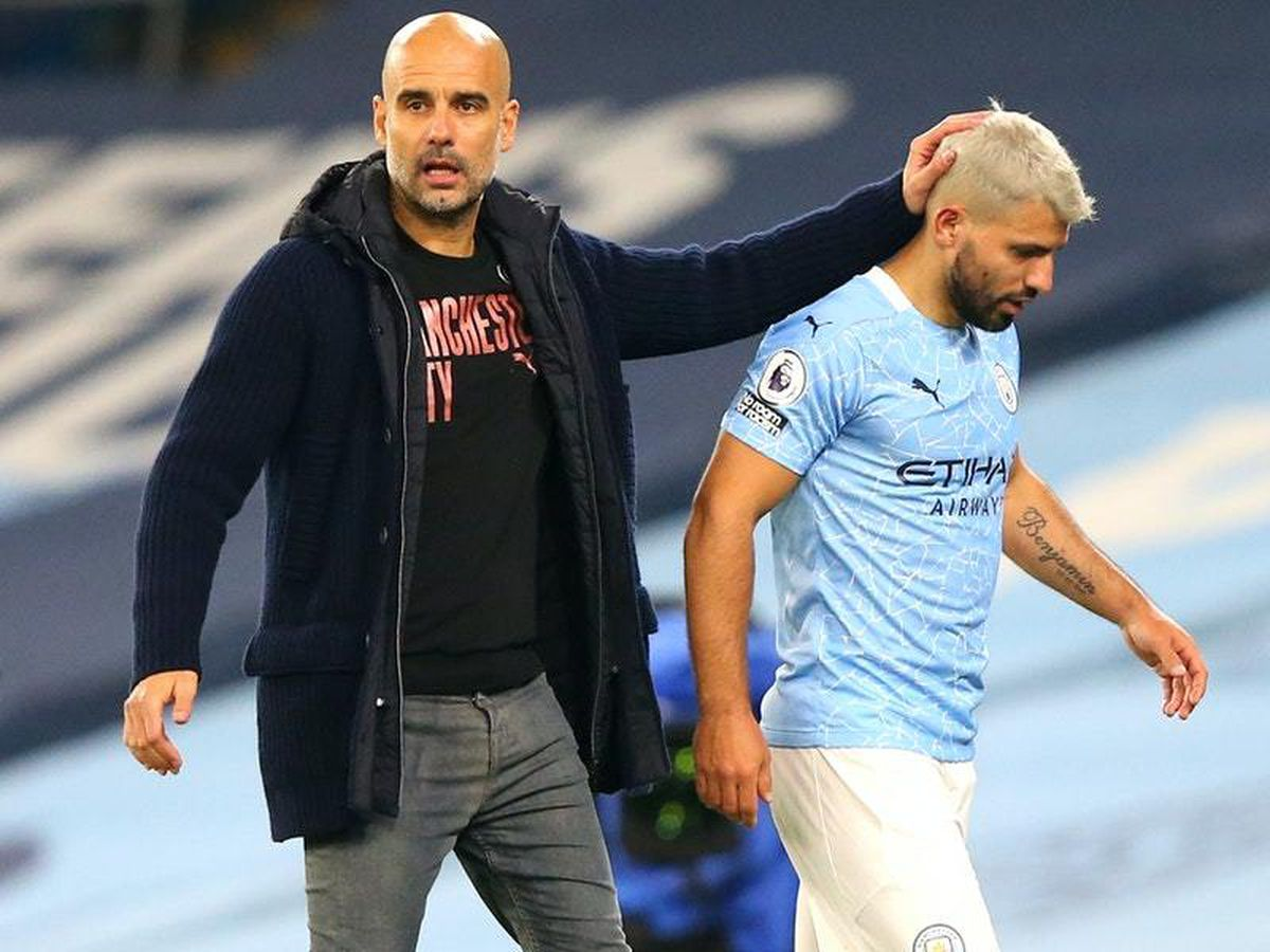 Pep Guardiola wary not to expect too much of striker Sergio Aguero