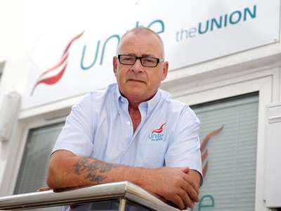 Unite call public sector strike