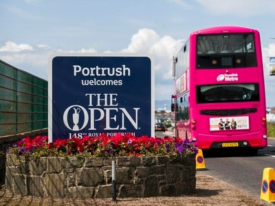 The Open 'switch has flicked' as tourists flock to Portrush