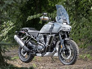 The Pan America adventure-style touring bike