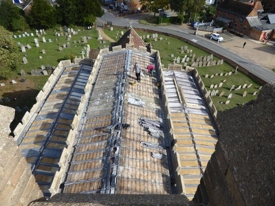 Thieves take entire roof from Grade I listed church