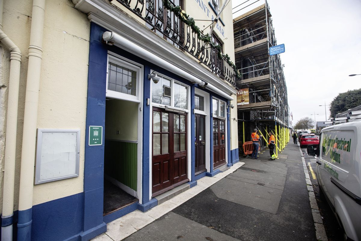 Elvis Vainovskis took on The Yacht Inn a month ago and is hoping it will reopen next week to welcome in the Christmas crowds. (Picture by Peter Frankland, 28942175)