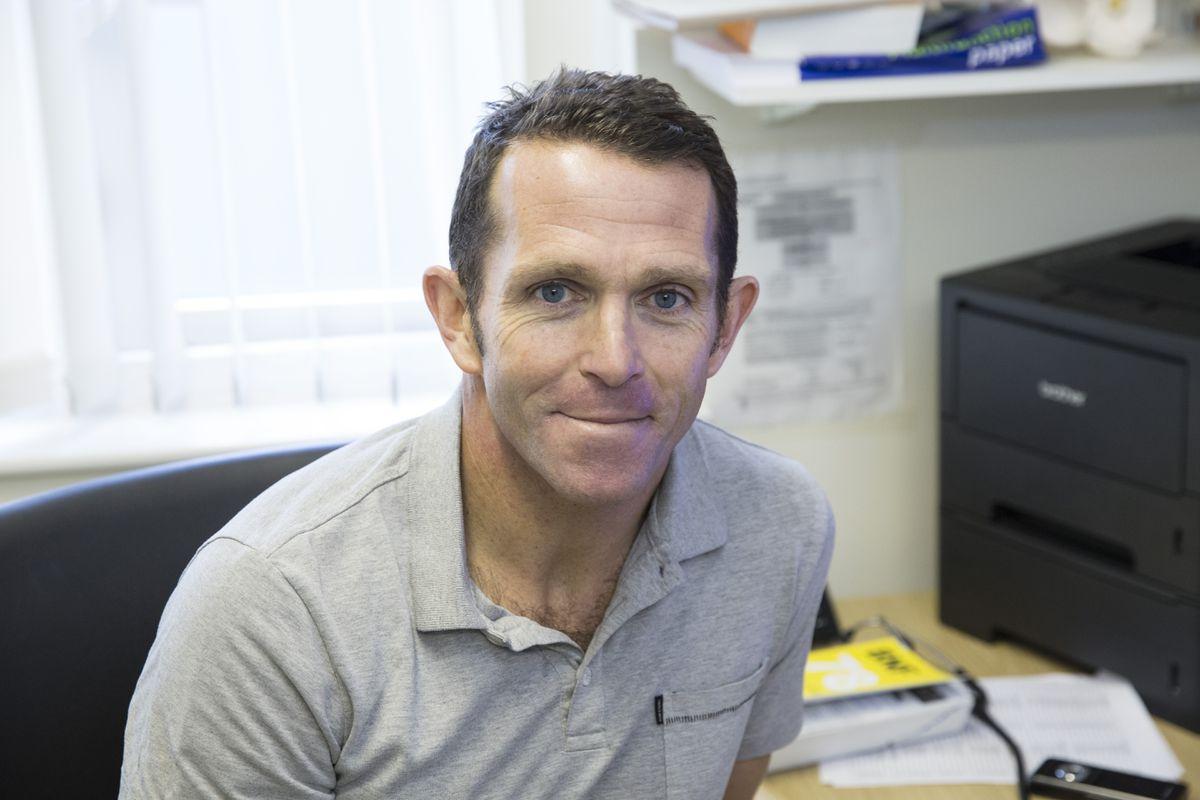 Local BMA press officer Dr Matt Dorrian. (30018063)