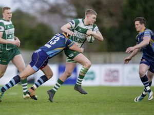 Guernsey Raiders' Tom Teasdale injured his hamstring in training this week. (www.guernseysportphotography.com)