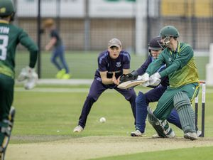 Guernsey Cricket v Sussex Academy.Matt Stokes.www.guernseysportphotography.com .Cricket at the KGV. Picture by Martin Gray, 04-08-19. (25430426)