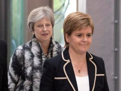 Sturgeon raises concerns of 'hardline Brexiteer' in No 10 after May quits