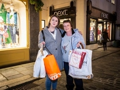 Beginning to feel a lot like Christmas for Town shoppers