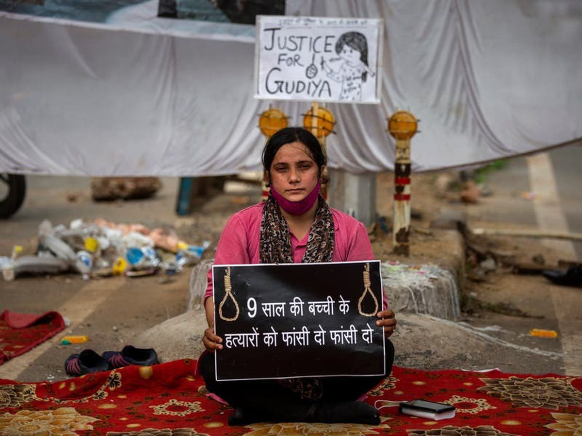 Suspected rape and murder of girl sparks protests in Indian capital