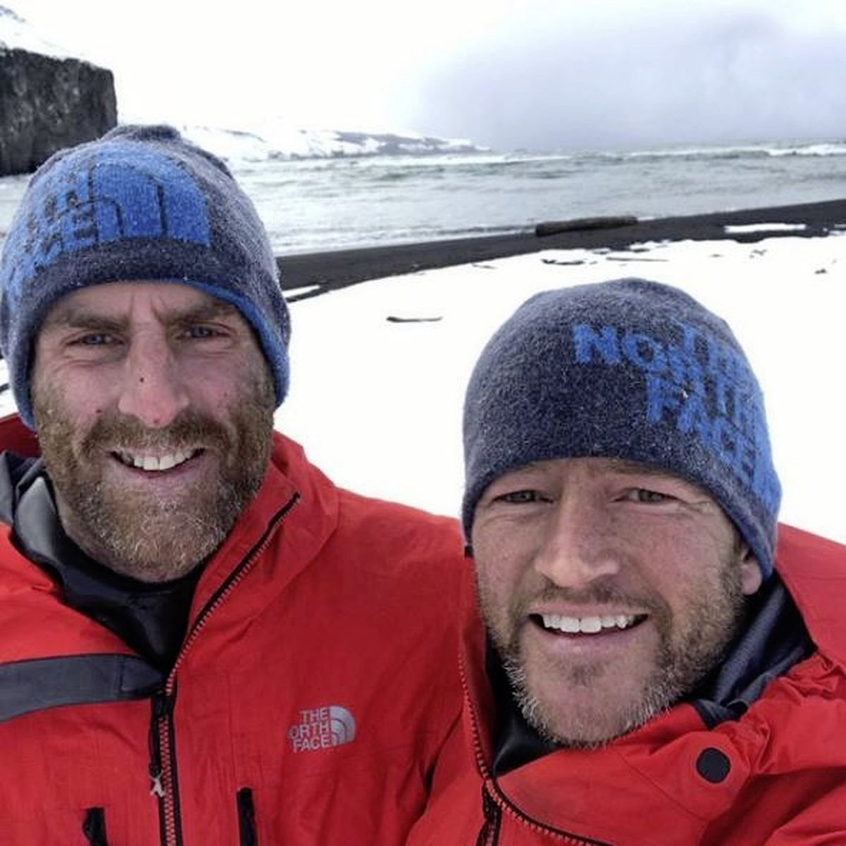 Gareth Andrews, right, and expedition partner and brother-in-law Richard Stephenson. (28801626)