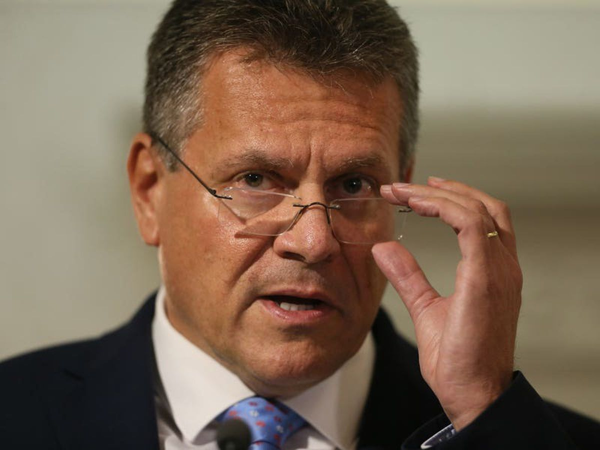 Role of ECJ was only mentioned once in protocol discussions, Sefcovic says