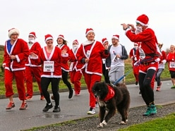 Santas on the run again