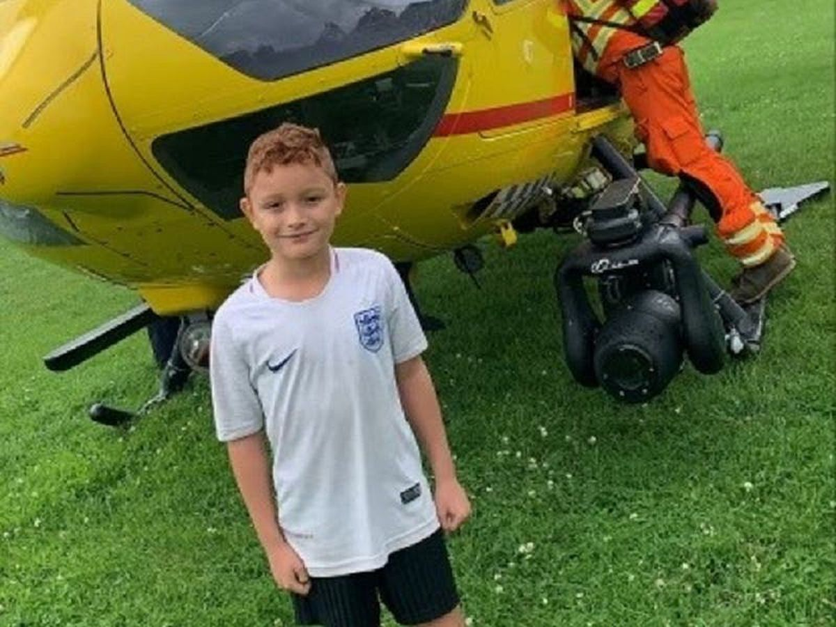 Grateful mother sets up fundraiser after first responder saves boy from choking