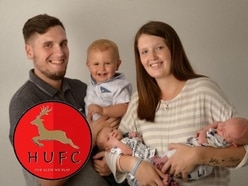 This man is setting up a football club in memory of his son, who passed away before he was born