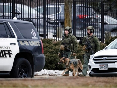 Gunman kills five at major US brewing giant
