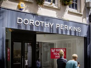 Closed Dorothy Perkins in High Street. (Picture By Sophie Rabey, 29740753)