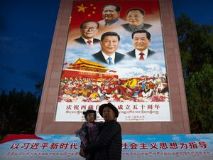 Chinese leader visits Tibet amid rising controls over religion