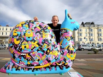 Fatboy Slim in snail's pace marathon to raise charity funds