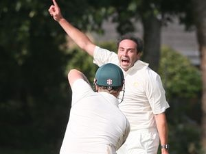 Pic by Adrian Miller 28-08-20 College Field cricket Elizabeth College v MCC. (29592725)